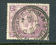 1922 Kenya Uganda stamp:King George V; 2sh; SC#30; Mombasa Cancel Used; CV=$15