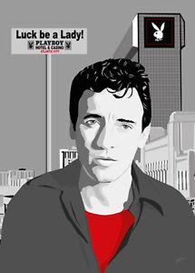 Bruce Springsteen - Atlantic City - Original (signed) art print - Jarod Art