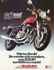 Motorrad 26 77 Kawasaki Z1R Suzuki RG 500 Rixe High Sport CB250T Coutard 1977