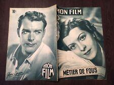 revue cine MON FILM N°127 lisette LANVIN glenn LANGAN 1949