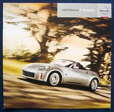 PROSPEKT BROCHURE NISSAN 2009 Z Roadster (USA)