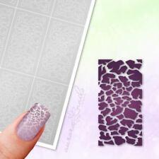 Schablonen für Airbrush und Nailart MU082 Crackle Risse Muster grunge