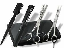 Friseurscheren Set im Etui Solingen Kamm 6 Zoll Haarschere Effilierschere 15cm