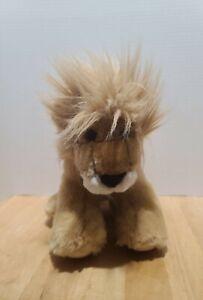 "TOYS R US Animal Alley LION Plush Stuffed Animal 12"" Retired Discontinued EUC"