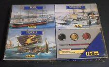 Heller Collection Kit Ship Model: PAMIR 1/750, DRAKKAR 1/180, POURQUOI-PAS 1/400