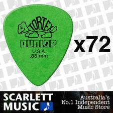 72 x Jim Dunlop Standard Tortex .88mm Green Picks Plectrums .88 *72 PICKS*
