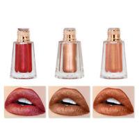 Metallic Liquid Lipstick Glitter Moisturizing Lip Gloss Cosmetic Lips Makeup