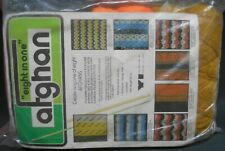Yarn Industries Eight in One Afghan Kit 2050 New Sealed 8 1 Crochet or Knit