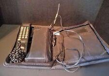 MOTOROLA CELLSTAR VTG CAR PHONE Mobile Brick VINTAGE BAG CELL SCN2555A RARE HTF
