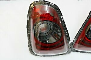 2012 MINI COOPER R56 R57 R58 R59 REAR BLACK LINE RETROFIT SMOKED TAIL LIGHT OEM