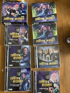 The New Counter-Measures: Series 1 & 2 +who Killed Toby Kinsella? Big Finish CDs