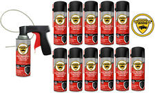 Woolwax® Spray Can Undercoating Kit. BLACK.  12 cans
