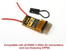 OrangeRx R610 v2 LIte DSM2 6CH 2.4GHz Receiver + CPPM Drone Spektrum R615x R410