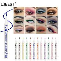 Beauty Thin Head Schnell trocknen Colorful Liquid Eyeliner Make -up für Augen