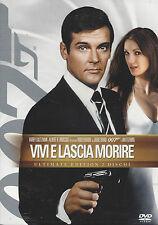 2 Dvd Box **007 ♦ VIVI E LASCIA MORIRE** Ultimate Edition con Roger Moore 1973