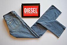 DIESEL JEANS Keate Distressed Blue Jeans Skinny Straight W25/26 L31/32