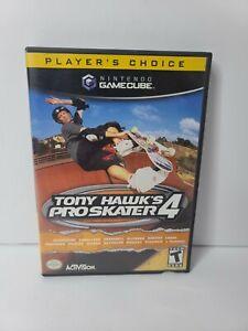 Tony Hawk's Pro Skater 4 (Nintendo GameCube, 2002) Players Choice No Manual