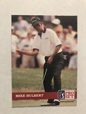 1992 Pro Set Golf #4 - Mike Hulbert