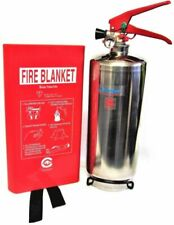 Kitemarked 2kg Powder Fire Extinguisher With Blanket Home Kitchen Car Office