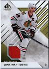 JONATHAN TOEWS 2016-17 SP GAME USED EDITION GAME USED JERSEY