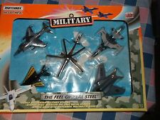 New (Box Wear) Matchbox  No. 67138 Die Cast Metal Military Planes Feel Real Stee