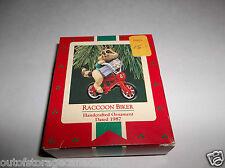 Hallmark Ornament Raccoon Biker 1987 QX4587 NEW