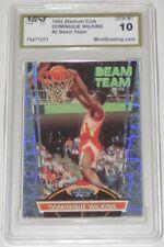 1992/93 Dominique Wilkins Topps Stadium Club Beam Team Insert Card #2 Mint Gr 10