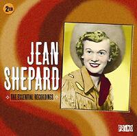 JEAN SHEPARD  *  40 Greatest Hits  *  2-CD SET  * All lOriginal Songs * NEW