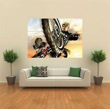Downhill Domination Bike Giant Wall Art New Poster Print Picture
