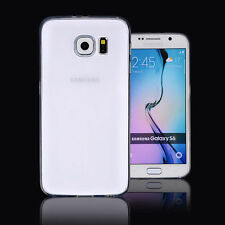 2X (Two) Samsung Galaxy S6 Cases- Ultra Thin Crystal Clear Soft TPU Gel Covers