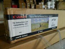 """New Genuine Canon 50"""" X 33' Fine Art Enhanced Velvet Paper Roll 255gsm White"""