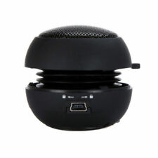 Mini Portable Travel Super Bass Speaker for iPhone iTouch iPod MP3 Cool Black