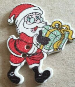 Christmas Theme Buttons - Card Making-Crafts -AUCTION-1p Start - Hobbies-Sewing