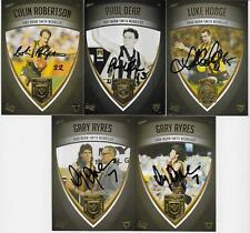 HAWTHORN HERITAGE NORM SMITH MEDALISTS SET OF 5 / ALL SIGNED / LIMITED EDITION