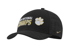 6577ab5457d Clemson Tigers Nike Cap College Football National Champions Locker Room Hat