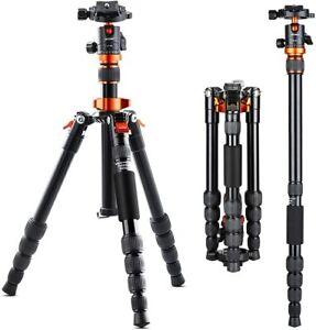 """K&F Concept 51""""Camera Tripod Monopod SA225M1 360°Ball Head for DSLR Canon Nikon"""