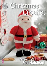 Kingcole Noël Crochet Pattern Book 2 - 10 Designs-pas le fini des objets