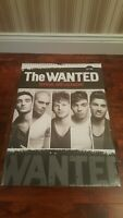 THE WANTED 2013 LARGE WALL CALENDAR **BRAND NEW SEALED** DATES MATCH 2019** RARE