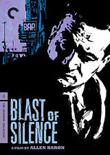 BLAST OF SILENCE Criterion Collection #428 Rare Out-Of-Print DVD Film Noir