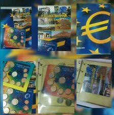 España 2 carteras oficiales BU Euros 2007 Tratado de Roma y 2009  C. A. Canarias