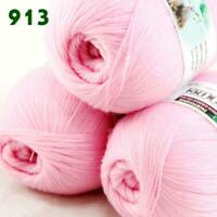 Sale 3 Skeins x 50g Soft Acrylic Wool Cashmere Hand Knit Fine Crochet Yarn 913