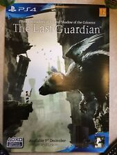 THE LAST GUARDIAN - OFFICIAL GAME PROMO POSTER