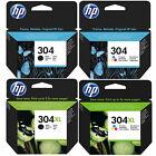 Original HP 304 / 304XL Black & Colour Ink Cartridges For ENVY 5020 Printer