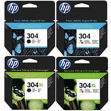 More details for original hp 304 / 304xl black & colour ink cartridges for envy 5020 printer