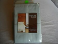 New Hudson Park 600 TC 100% Egyptian Cotton King Pillowcases Seaglass