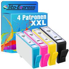 4 Patronen für HP 364 XL Photosmart DeskJet 3070A 3520 5510 5520 6510 6520 7510