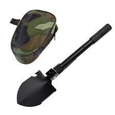 Shovel Garden Digging Digger Tool Treasure Finder Spade w/ Carry Bag Outdoor