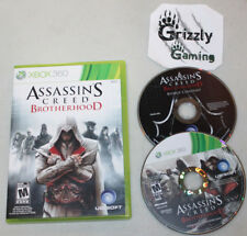 USED Assassin's Creed Brotherhood XBOX 360 (NTSC) Tested and Working!
