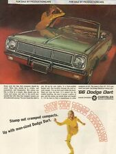1966 Dodge Dart GT Convertible - Classic 10x13 Vintage Advertisement Ad LG17