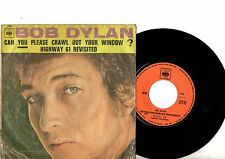BOB DYLAN 7' PS Can You Please Crawl France JUKEBOX CBS 1900 French VERY RARE 45
